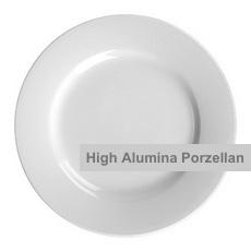 Vital Level Zeitlose runde Gastro-Teller mit Fahne